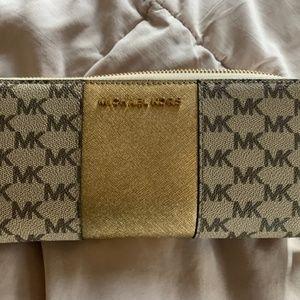 MK Gold Wallet